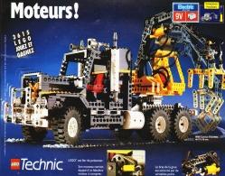 "PUB 8868 CAMION ""  LEGO TECHNIC "" 1992 (10) - Figures"