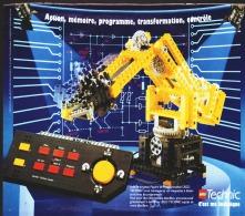 """PUB PUPITRE ET PROGRAMMATION """"  LEGO TECHNIC """" 1990 (11) - Figures"""