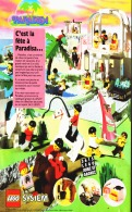 "PUB PARADISA ""  LEGO SYSTEM "" 1992  (12) - Figures"