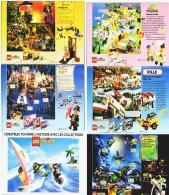 """CATALOGUE DEPLIANT """"  LEGO SYSTEM Et TECHNIC """" 1992  (13) - Figures"""