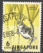 Singapore. 1962-66 Definitives. 6c Used. SG 67 - Singapore (1959-...)