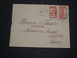 FRANCE / ALGÉRIE - Enveloppe Pour La France En 1937 - A Voir - L 4461 - Algérie (1924-1962)