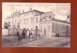 1 Cpa  Castelgomberto Villa Porto - Italia