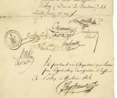 GRANDE ARMEE – 108e De Ligne - POSEN 1808 Poznan Pologne - Generaux SCHMITZ Et ROTTEMBOURG - Waterloo - Documents Historiques