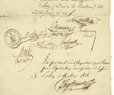 GRANDE ARMEE – 108e De Ligne - POSEN 1808 Poznan Pologne - Generaux SCHMITZ Et ROTTEMBOURG - Waterloo - Historical Documents