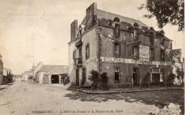 COMBOURG - L'Hôtel De France Et Le Boulevard Du Nord - Combourg
