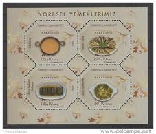 Turkey (2012) - Block -  /  Food - Gastronomie - Gastronomy - Gastronomia - Alimentación