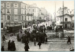REPRO - Grenoble (38) - La Barrière Cours Berriat (Photo Tomitch) (Carte Pub Imprimerie Dardelet) (Recto-Verso) - Grenoble