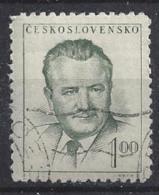 Czechoslovakia 1952  Klement Gottwald  (o) Mi.740 - Czechoslovakia