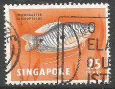 Singapore. 1962-66 Definitives. 25c Used. SG 72 - Singapore (1959-...)