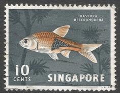 Singapore. 1962-66 Definitives. 10c Used. SG 69 - Singapore (1959-...)