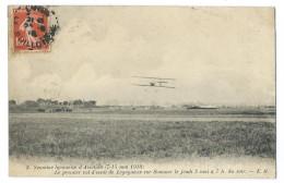 Semaine Lyonnaise D´aviation Mai 1910 - Premier Vol De LEGAGNEUX Sur Sommer Le 5 Mai à 7h - Meetings