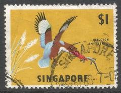 Singapore. 1962-66 Definitives. $1 Used. SG 75 - Singapore (1959-...)