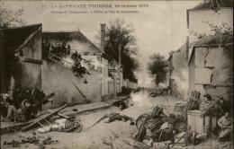 28 Châteaudun Guerre 1870 Barricade D28D K28088K C28088C RH091833 - Chateaudun