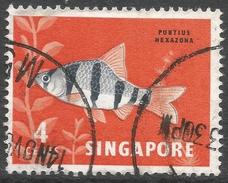Singapore. 1962-66 Definitives. 4c Used. SG 65 - Singapore (1959-...)