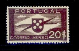 ! ! Portugal - 1936 Air Mail 20$00 - Af. CA 09 - MH - Neufs