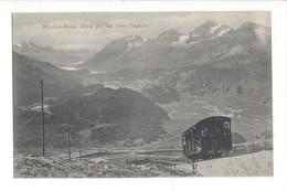 15693 - Muottas Bahn Blick Auf Das Ober Engadin Train - GR Grisons