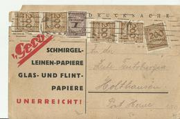 DR GS  INFLA - Storia Postale