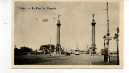 LIEGE  Le Pont De Fragnee  Tram - Liege