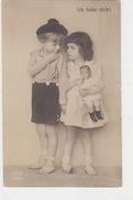 Kinder Mit Knaben-Puppe - Photokarte  (161015) - Juegos Y Juguetes