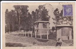 CARTE POSTALE   LES AIX D'ANGILLON 18  Les Fontaines De Valentigny - Les Aix-d'Angillon