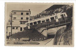 15703 - Leysin Les Automotrices Aigle-Leysin Family Hotel + Cachet Les Avants - VD Vaud
