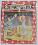 """BD RARE """"L'ÉPATANT"""" - L. FORTON (aut. Des Pieds Nickelés) N°231 - 5 Septembre 1912 - 16 Pages - Pieds Nickelés, Les"""