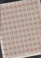 INFLA DR 313 A P,  Vollständiger Bogen (100 Marken), Plattennummer -/3/3, Postfrisch **, HT...., PE.... - Deutschland