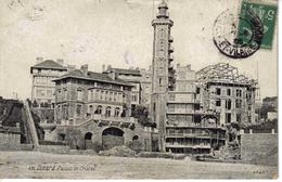 35 DINARD N°876 Palais De Cristal Hôtel Restaurant En 1908 VOIR ZOOM Bâtiment En Construction - Dinard