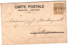 Griffe Annulation LOTTIGNA  Sur Carte Postale Affranchie à 2c  TB - Postmark Collection