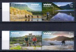 Irland 'Reiten Angeln Radfahren Surfen' / Ireland 'Wild Atlantic Way, Riding Fishing Cycling Surfing' **/MNH 2016