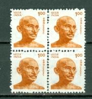 India 1991  Yv  4 X 1085**,   Mahatma Gandi MNH
