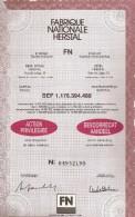 FN - Herstal - Shareholdings