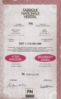 FN - Herstal - Actions & Titres