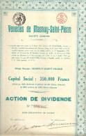 Verreries De Masnuy - Saint-Pierre - Actions & Titres