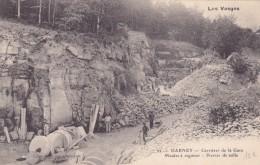 DARNEY  Carrieres De La Gare  Meules A Aiguiser  Pierre De Taille - Darney