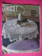 129 - Revue - TRICOT SELECTION - Hors Série - Spécial Crochet D'art - 1972 - Moda
