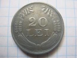 Romania 20 Lei 1943 - Roumanie