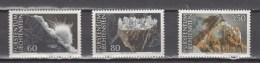 Liechtenstein 1994,3V,set,mineralen,minerals,mineralien,minéraux,minerales,mineraliMNH/Postfris(A2899) - Mineralen