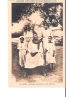 C.P.A. BENIN  Notable Catholique Et Ses Enfants - Benin