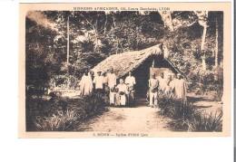 C.P.A. BENIN   Eglise D'EKITI   IJAN - Benin