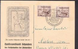 Sonderstempel Stuttgart Postwertzeichen - Ausstellung 1938 - Deutschland