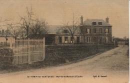 27 - SAINT AUBIN LE VERTUEUX - Mairie Et Maison D'Ecole - Frankreich