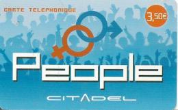 CARTE§-PREPAYEE-3.5€-CITADEL-PEOPLE-31/12/2010-TBE- - Autres Prépayées