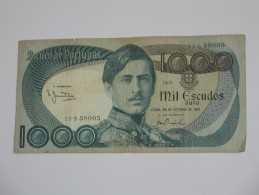 1000 Mil Escudos Ouro 1982 - Banco De  PORTUGAL  **** EN ACHAT IMMEDIAT **** - Portugal