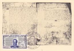 Carte-Maximum FRANCE N° Yvert 1618 (HENRI IV - EDIT De NANTES) Obl Sp Ill 1er Jour (Ed MF) - Maximum Cards