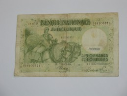 50 Francs Ou 10 Belgas 1945 - Banque Nationale De Belgique **** EN ACHAT IMMEDIAT **** - 50 Francos-10 Belgas