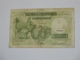 50 Francs Ou 10 Belgas 1945 - Banque Nationale De Belgique **** EN ACHAT IMMEDIAT **** - [ 2] 1831-... : Koninkrijk België