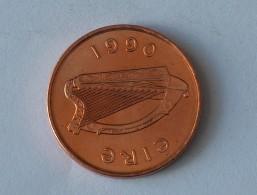 IRLANDE 2 PENNY 1990 - Irlande