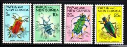 Papua New Guinea MNH Scott #237-#240 Set Of 4 Beetles - Papouasie-Nouvelle-Guinée